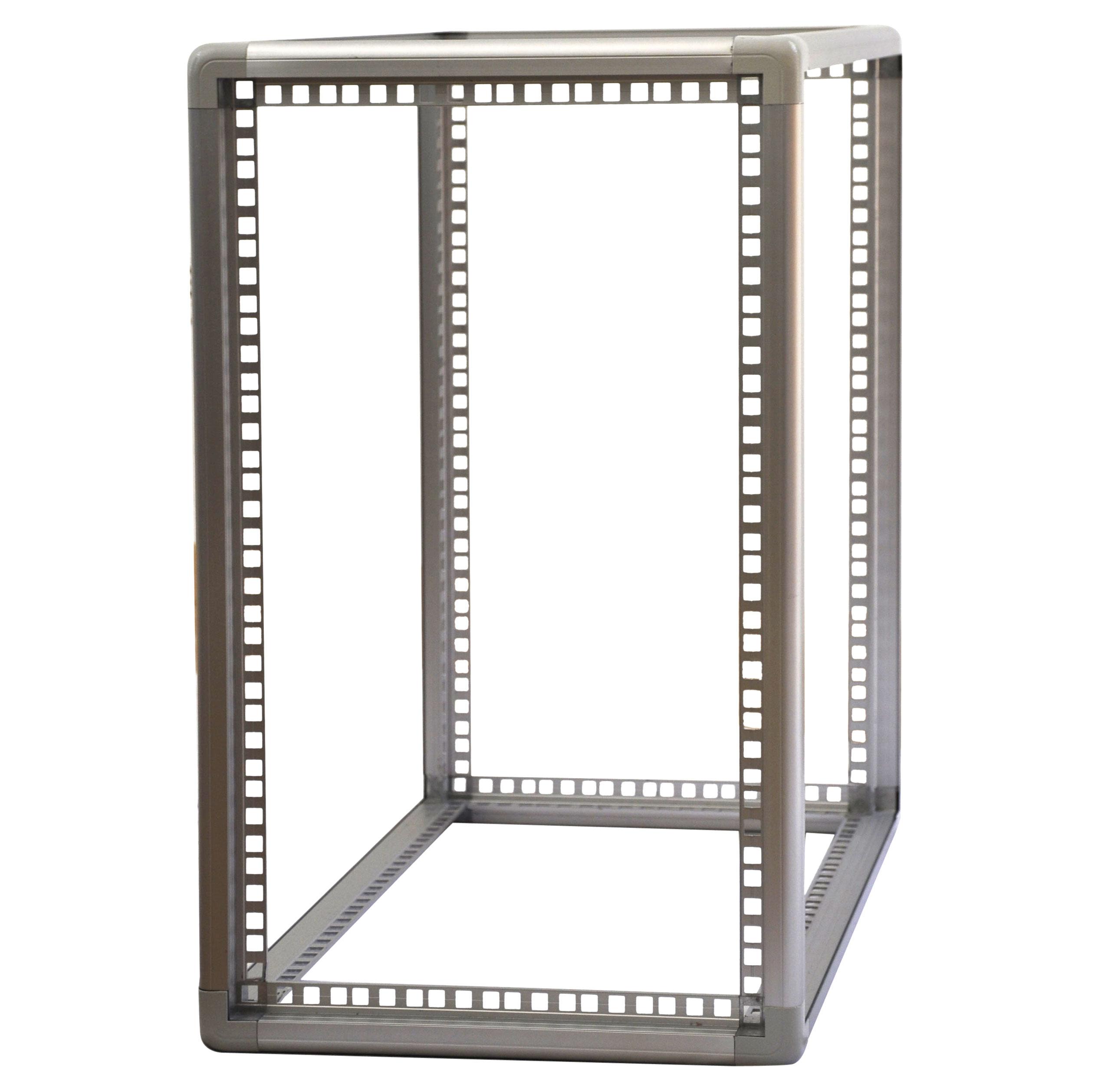 telaio modulare in alluminio per contenitori e strutture di medio piccole dimensioni